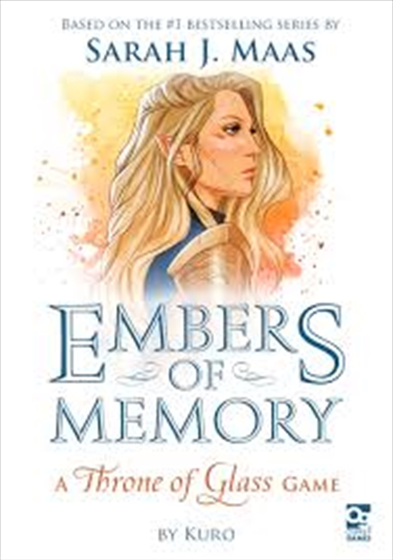 Embers Of Memory: A Throne Of Glass Game | Audio Book