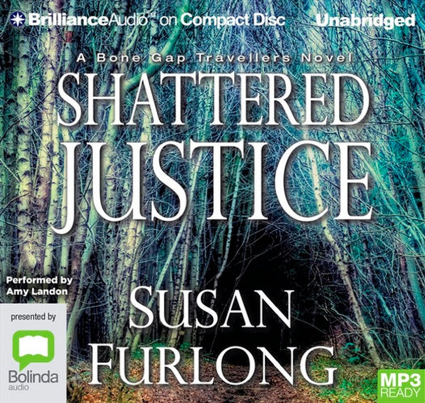Shattered Justice   Audio Book