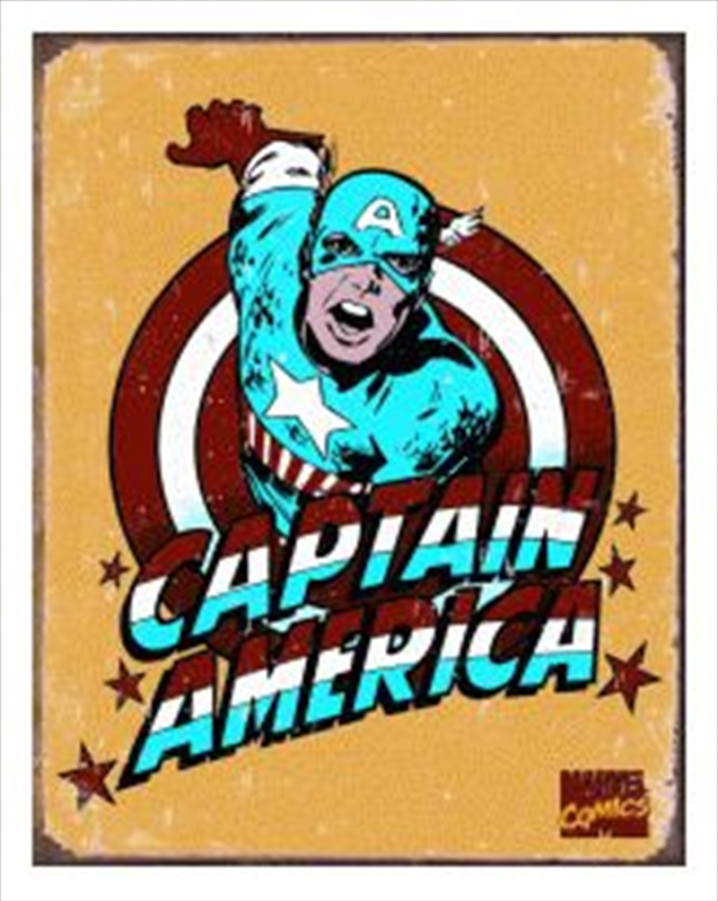 Captain America Retro | Merchandise