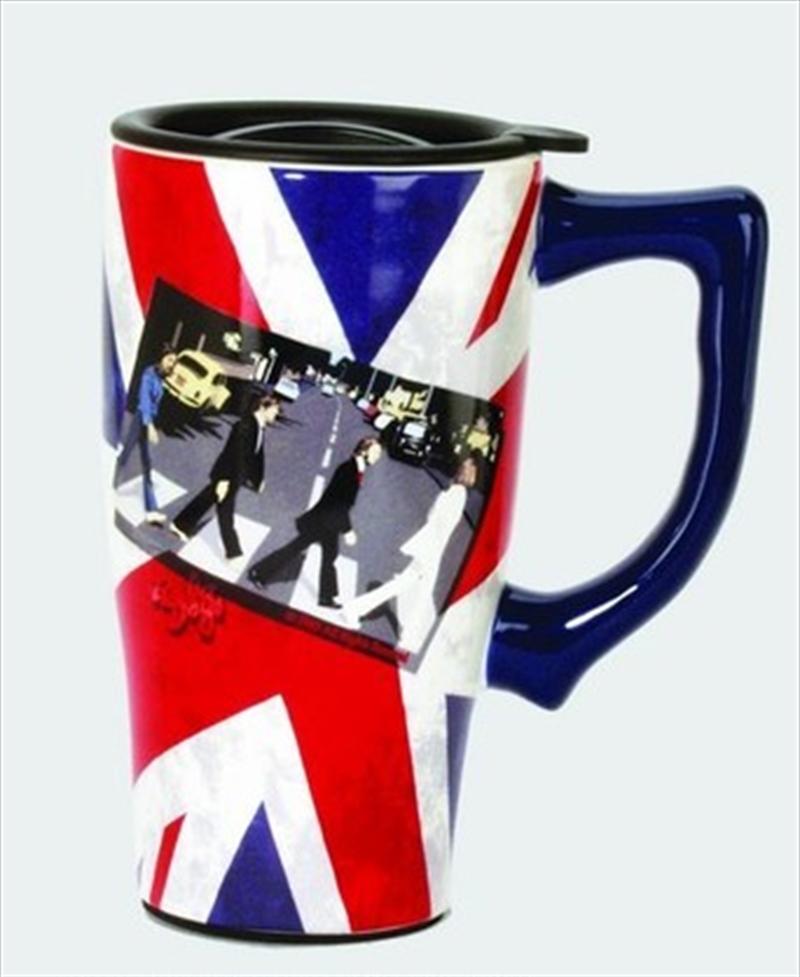 Fab 4 Crossing Travel Mug   Merchandise