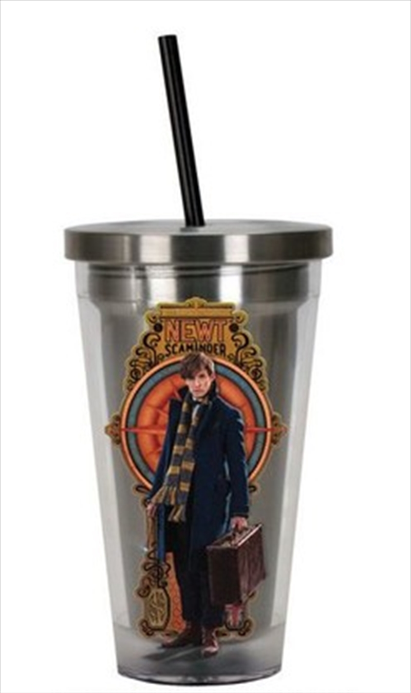 Fantastic Beasts Cup W Straw | Merchandise