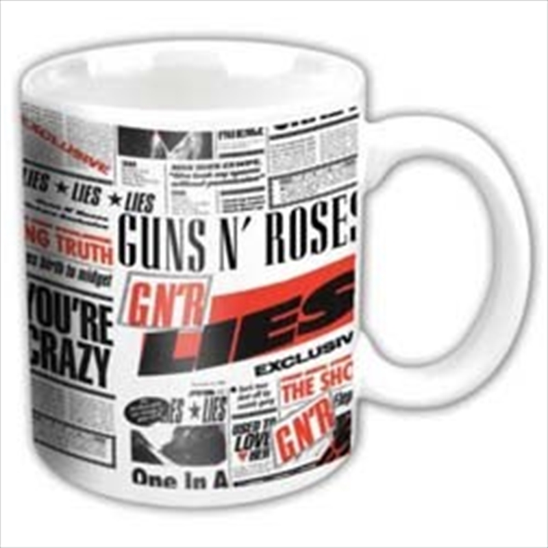 Guns N Roses Lies Mug | Merchandise