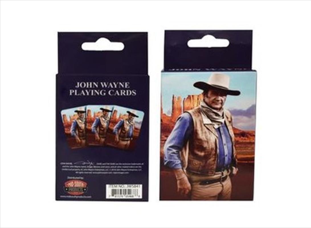 John Wayne Playing Cards | Merchandise