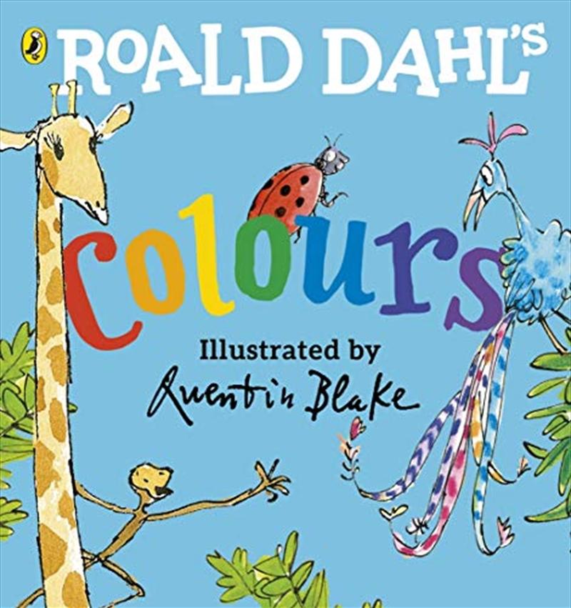 Roald Dahl's Colours   Hardback Book
