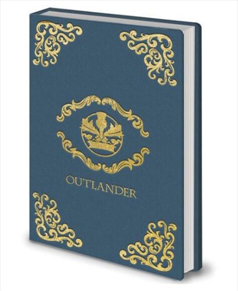Outlander - Crest Blue   Merchandise