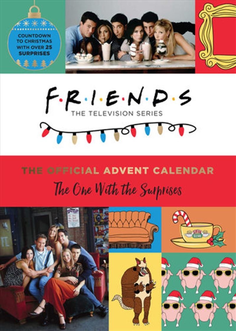 One With the Surprises - Official Friends Advent Calendar | Hardback Book