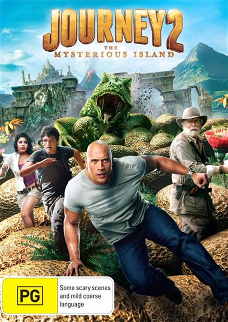 Journey 2 - The Mysterious Island | DVD