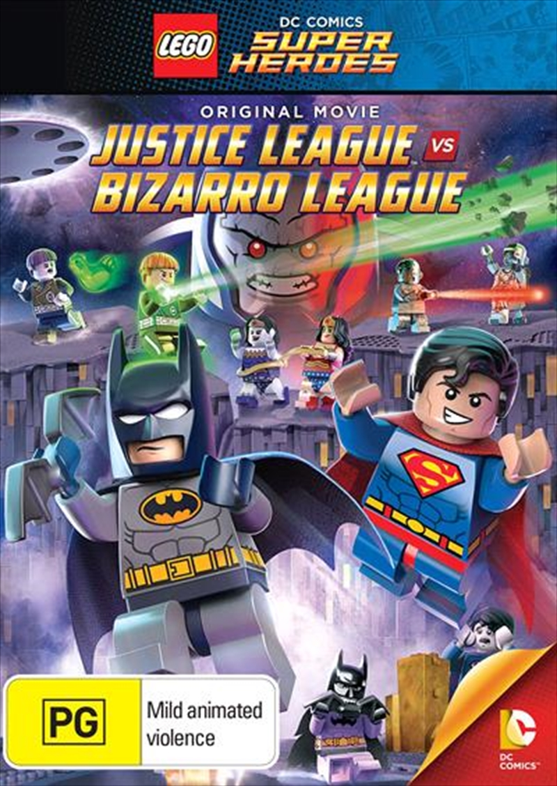 LEGO - Batman Justice League Vs Bizarro League | DVD