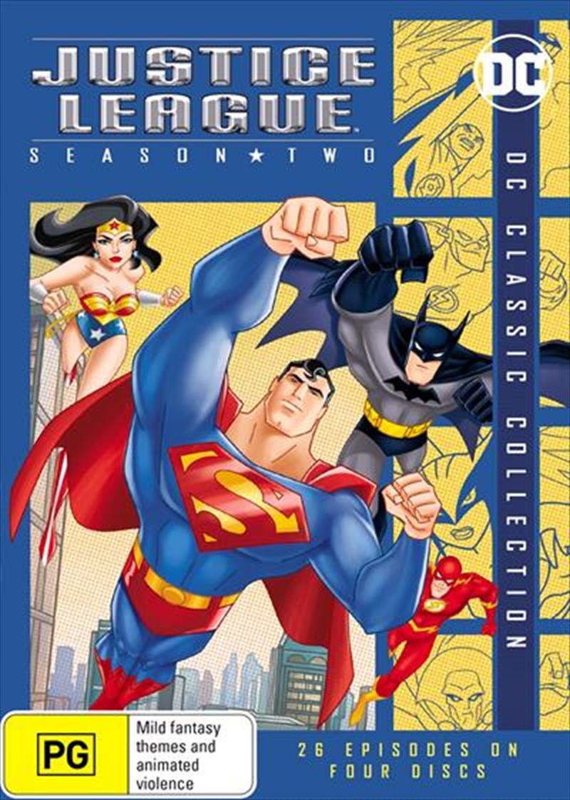 Justice League - Season 2 | DVD