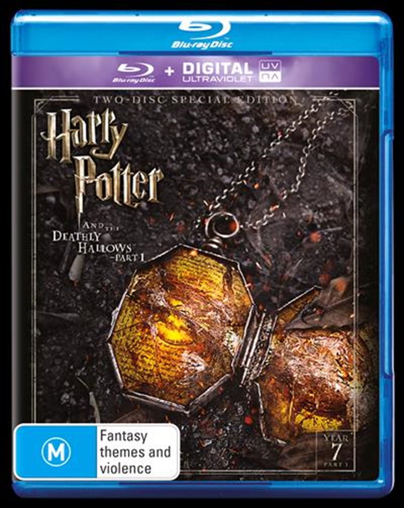 Harry Potter And The Deathly Hallows - Part 1 - Limited Edition | UV - Year 7 | Blu-ray