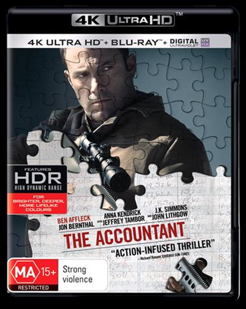 Accountant | Blu-ray + UHD + UV, The | UHD