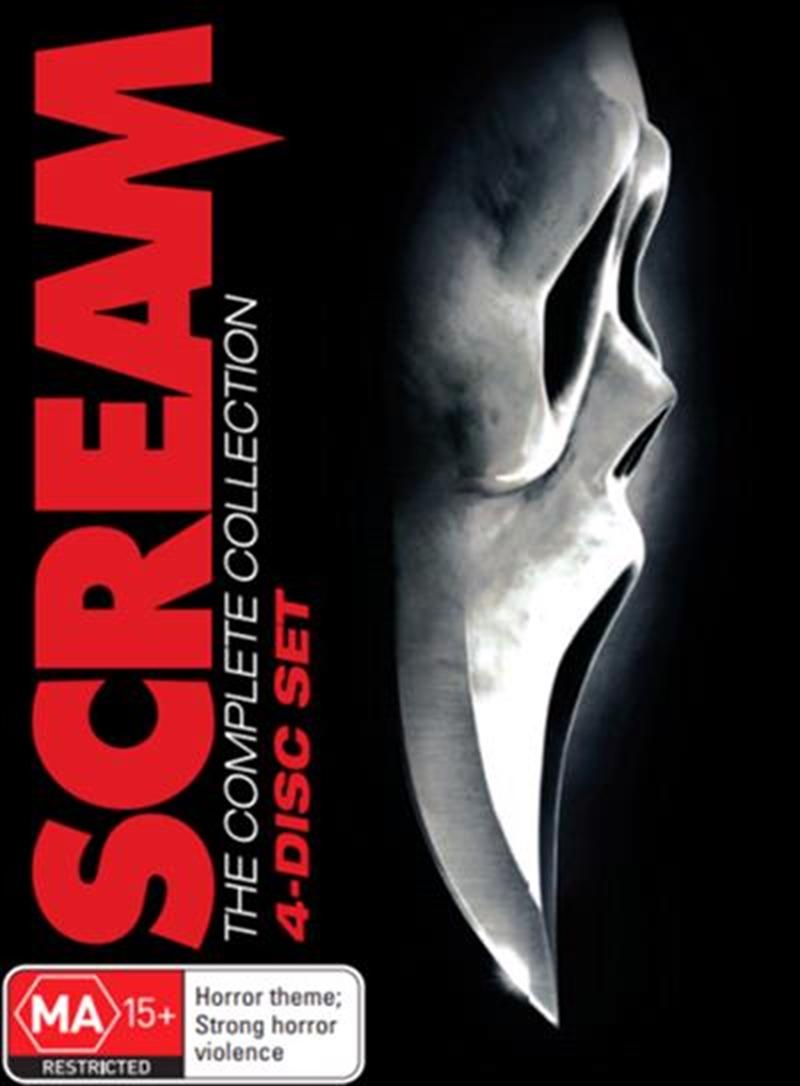 Scream 1-4 | Boxset | DVD
