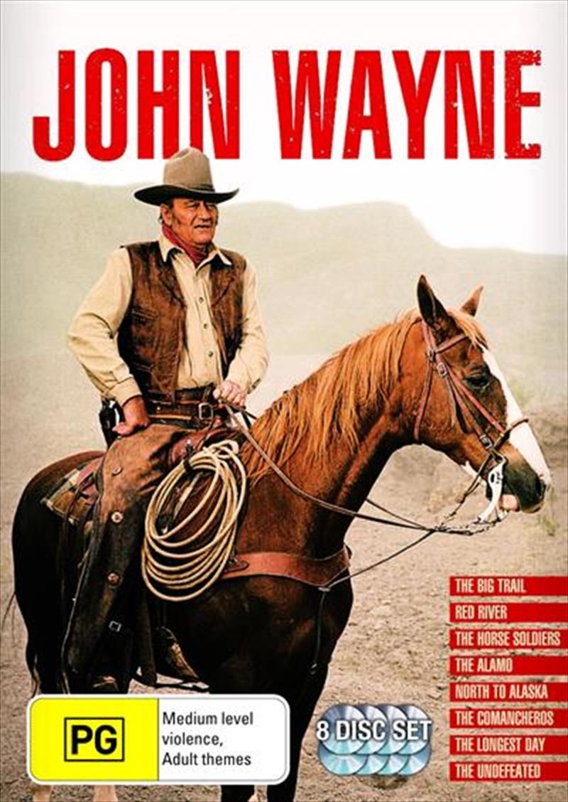 John Wayne Booklet | Boxset | DVD