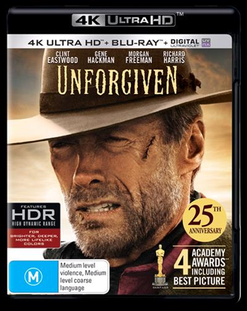 Unforgiven - 25th Anniversary Edition | Blu-ray + UHD + UV | UHD