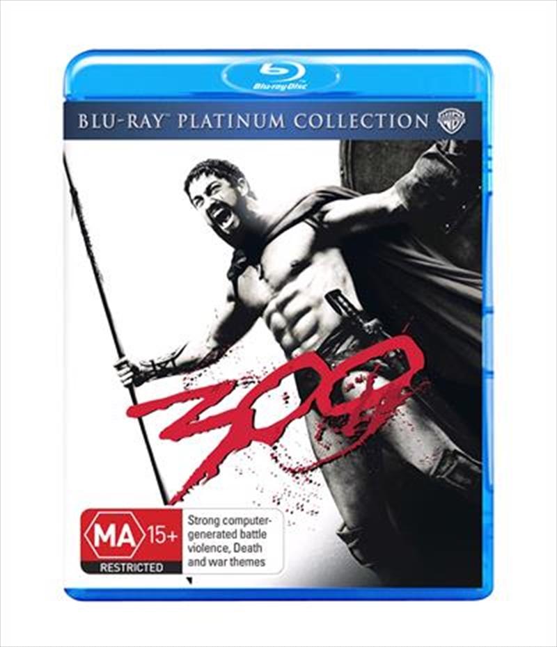 300 - Platinum Edition   Blu-ray