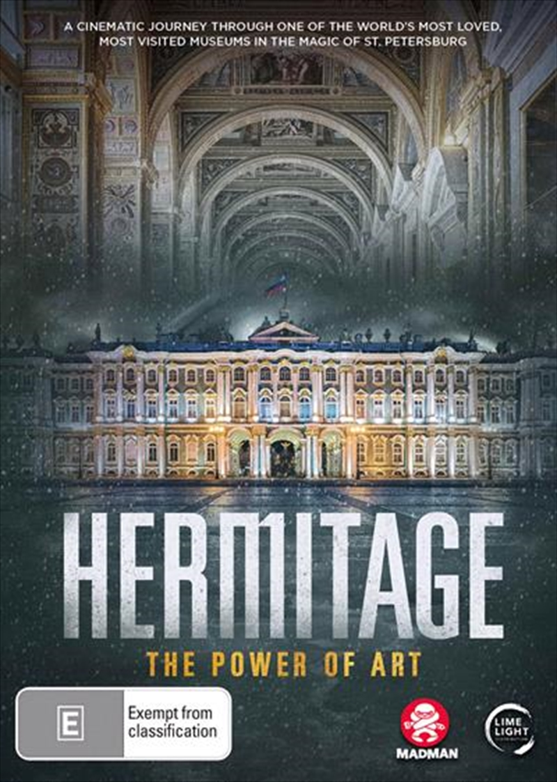 Hermitage - The Power Of Art   DVD
