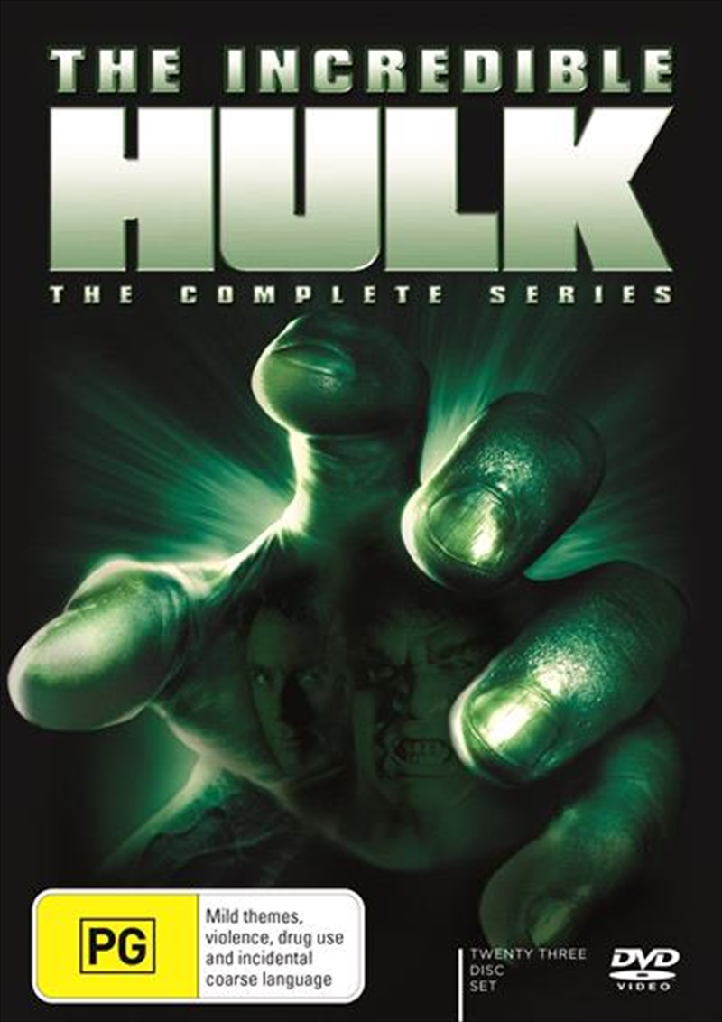 Incredible Hulk | Complete Series, The | DVD