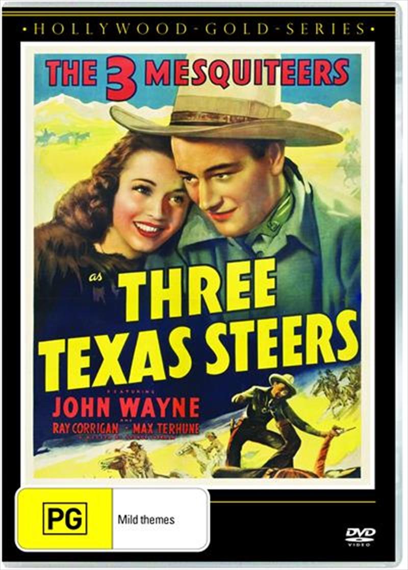 Three Texas Steers | DVD