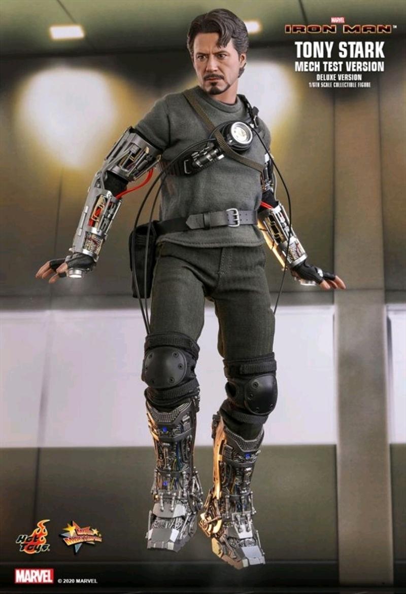 "Iron Man - Tony Stark Mech Test 1:6 Scale 12"" Action Figure   Merchandise"