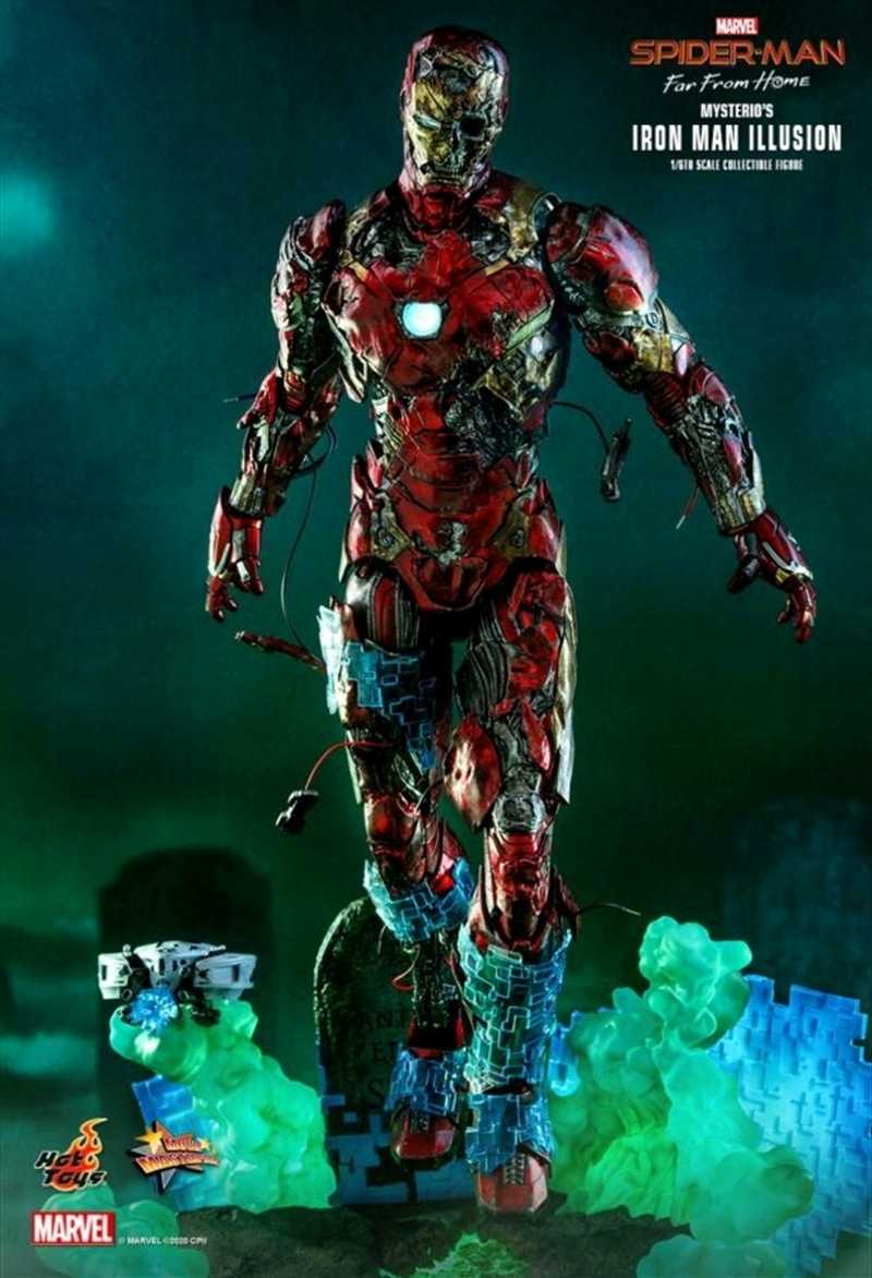 "Spiderman: Far From Home - Mysterios Iron ManIllusion 1:6 Scale 12"" Action Figure 