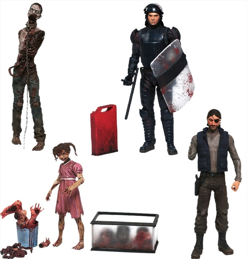 "The Walking Dead - 7"" Comic Series 2 Action Figure Assortment 