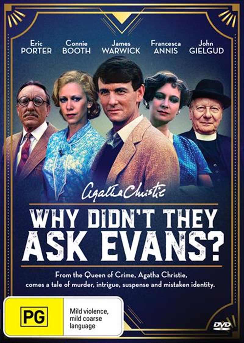 Agatha Christie's Why Didn't They Ask Evans? | DVD