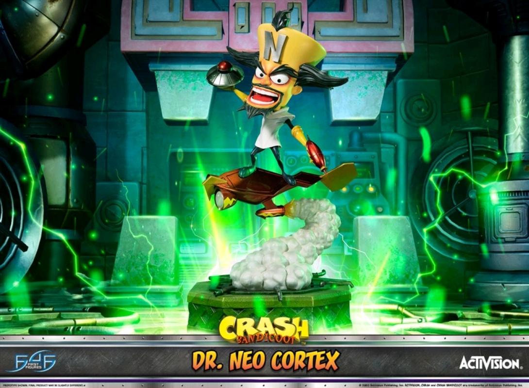 Crash Bandicoot - Dr Neo Cortex Statue | Merchandise