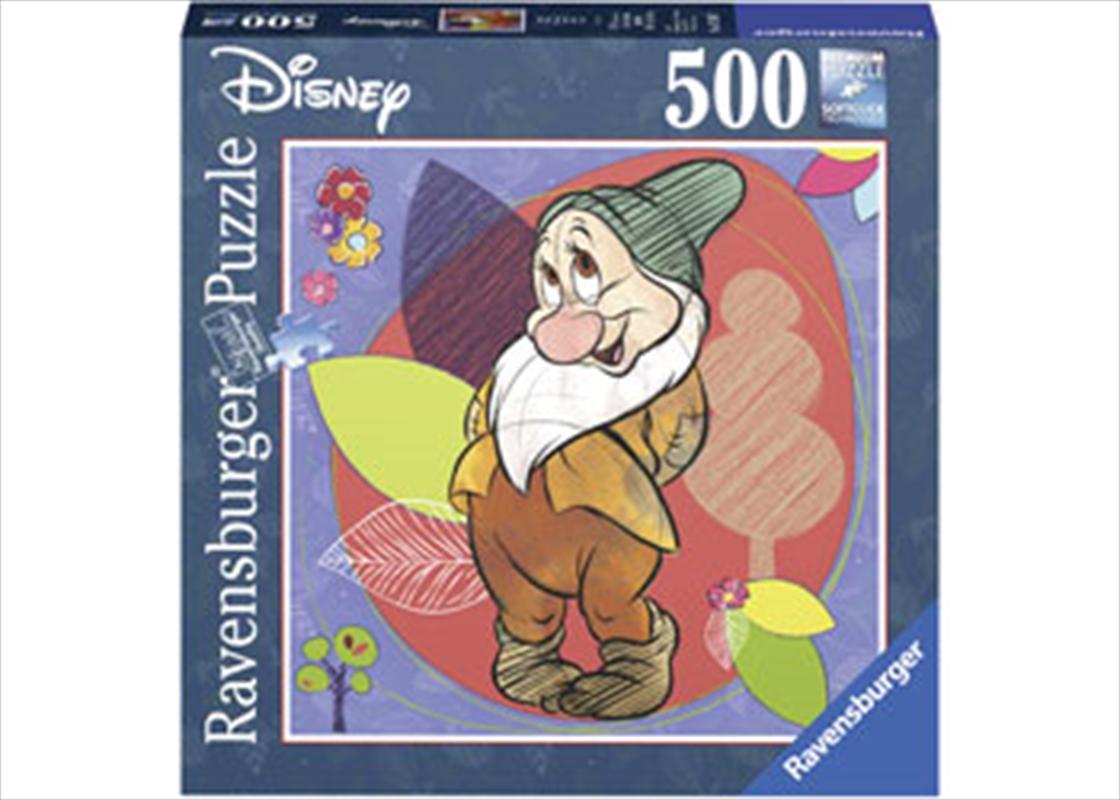 Disney Bashful Square 500 Piece Puzzle | Merchandise