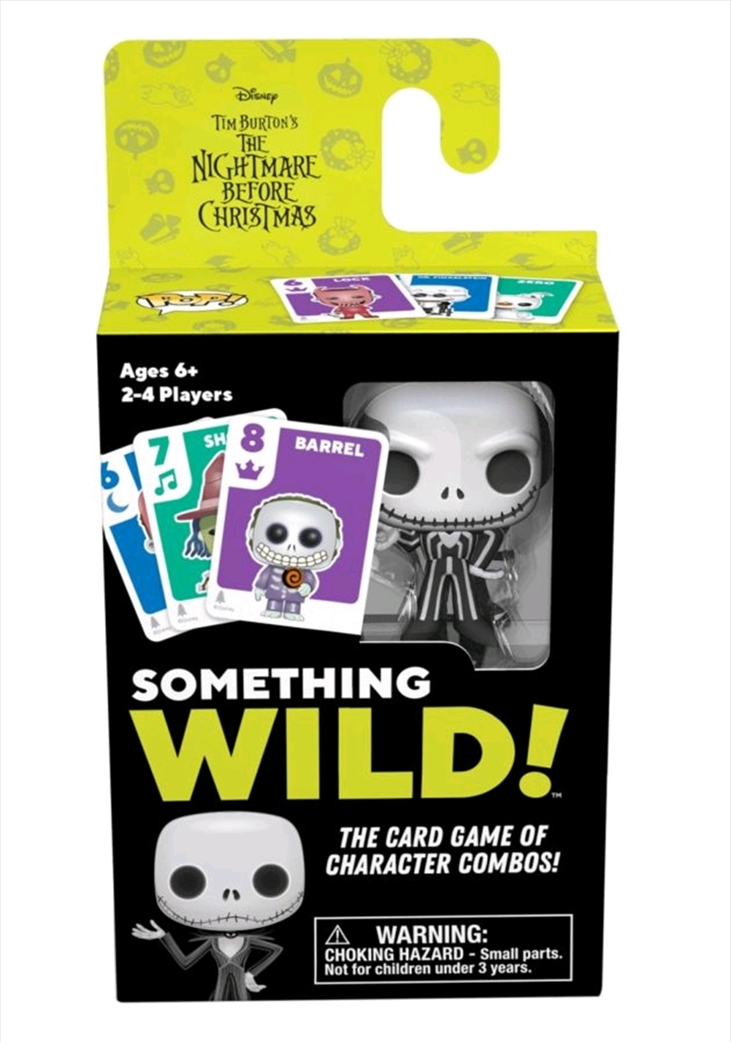 The Nightmare Before Christmas - Something Wild Card Game | Merchandise