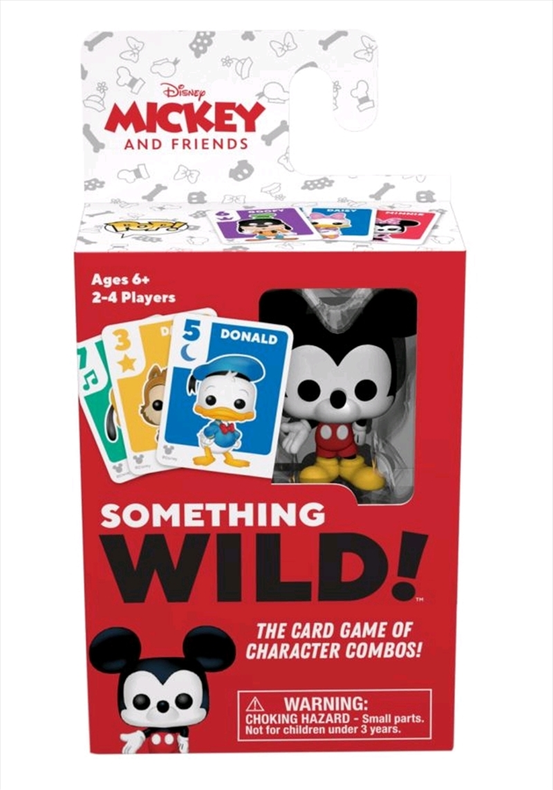 Mickey Mouse - Something Wild Card Game | Merchandise