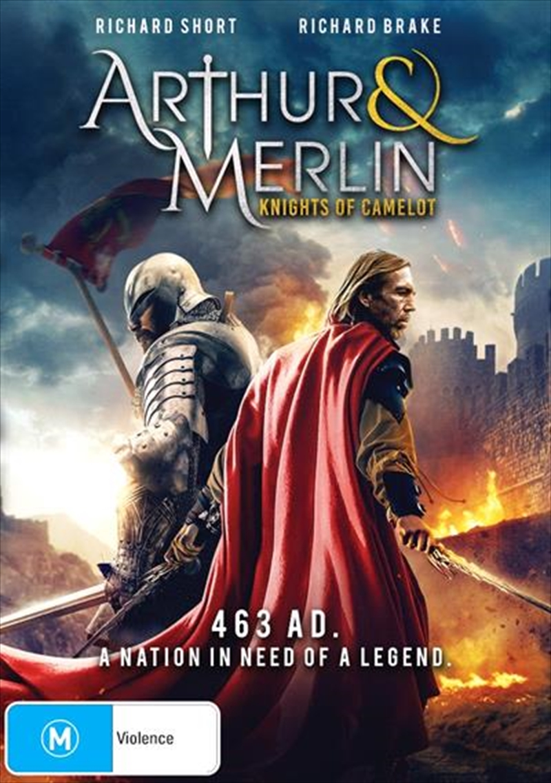 Arthur and Merlin - Knights Of Camelot | DVD