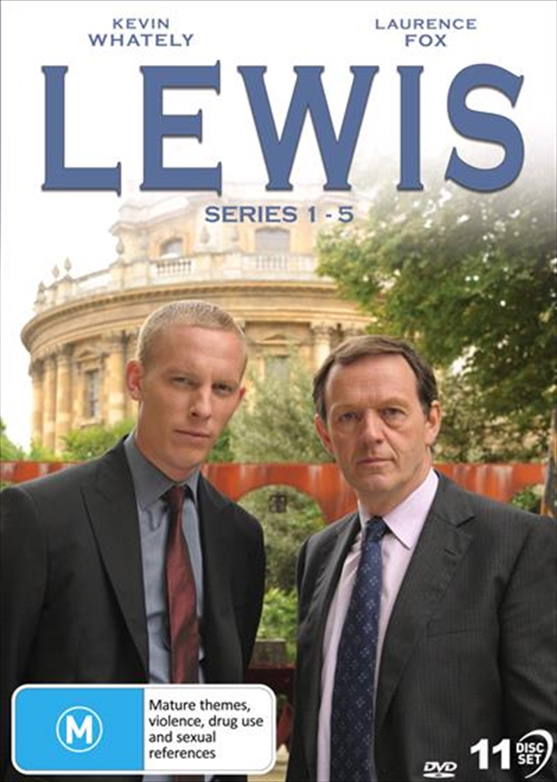 Lewis - Season 1-5 | Collection | DVD