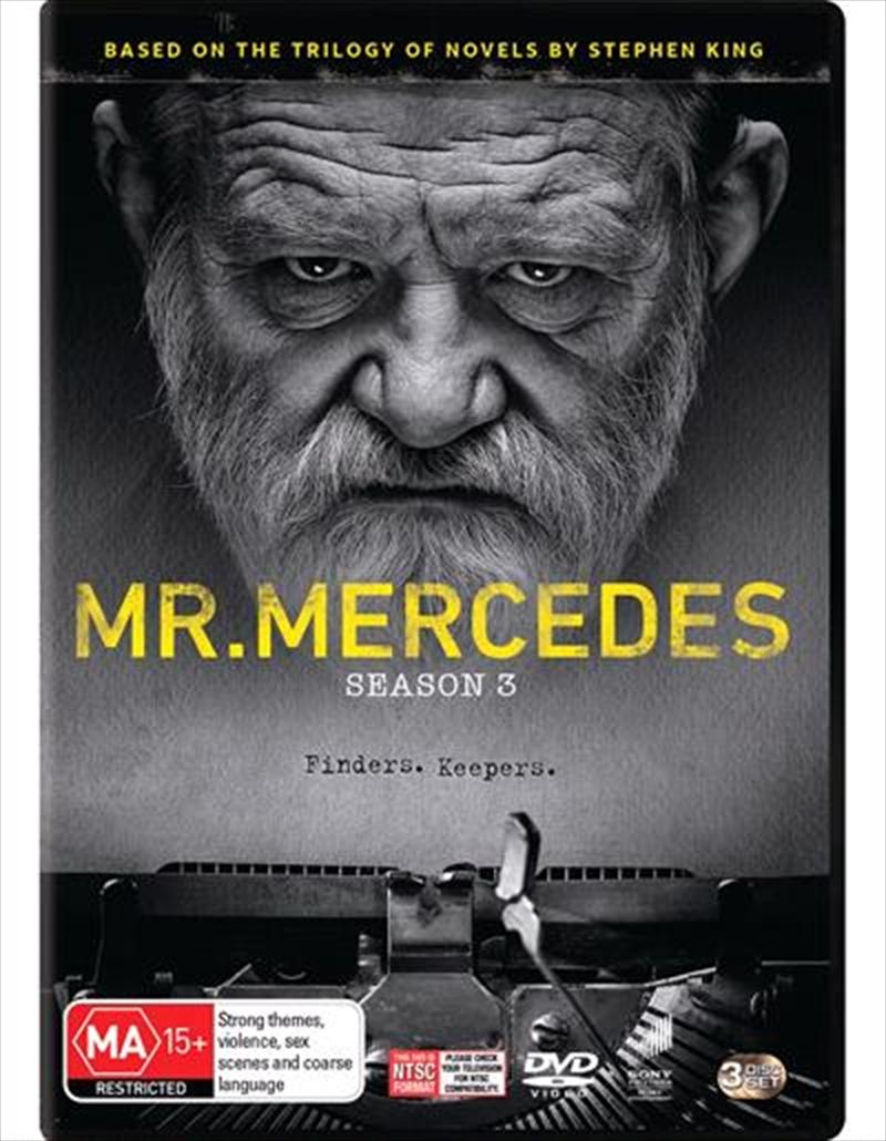 Mr. Mercedes - Season 3   DVD