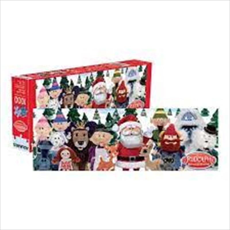 Rudolph 1000 Piece Slim Puzzle | Merchandise