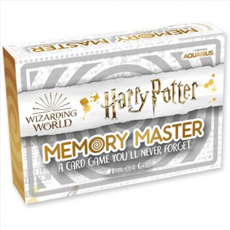 Harry Potter Memory Master Card Game | Merchandise