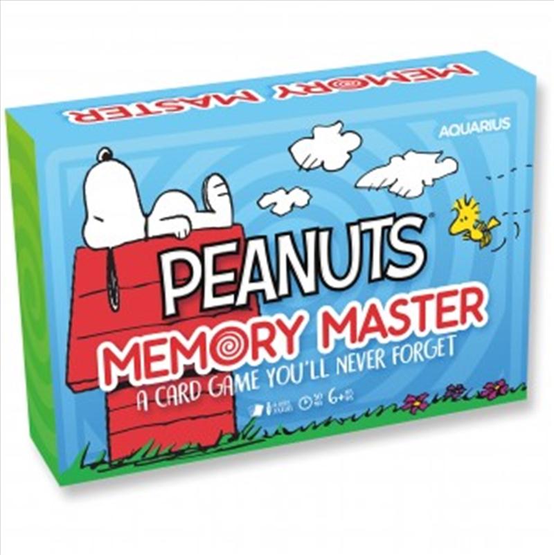 Peanuts Memory Master Card Game | Merchandise