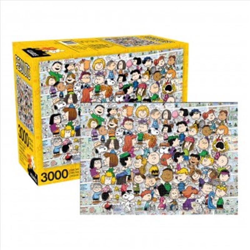 Peanuts Cast - 3000 Piece Puzzle   Merchandise