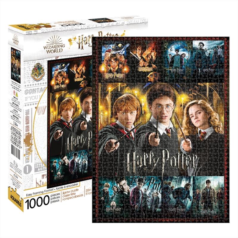 Harry Potter - Movie & Trio - 1000 Piece Puzzle | Merchandise