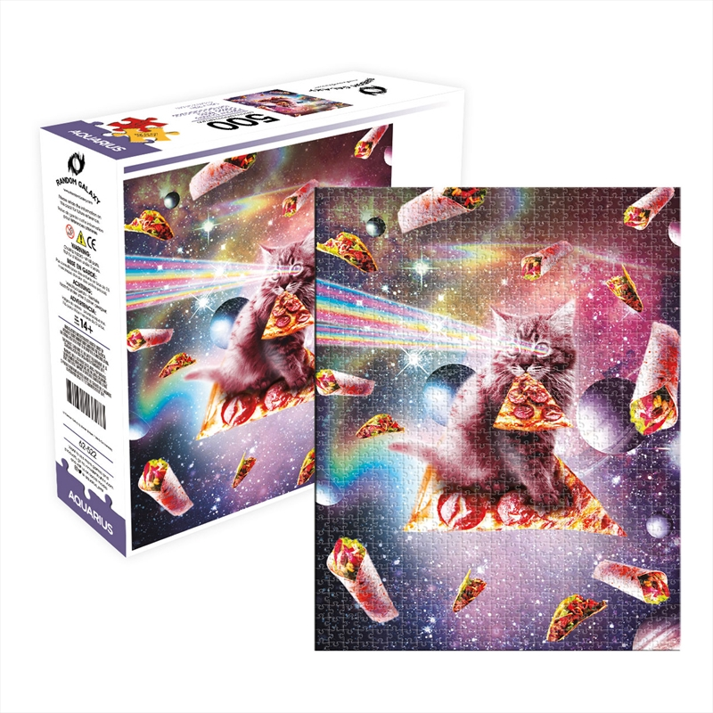 Cat Pizza 500 Piece Puzzle | Merchandise