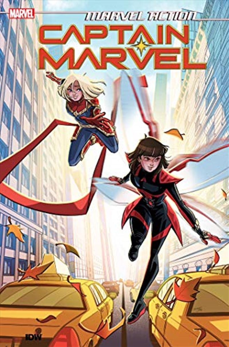 Marvel Action: Captain Marvel   Paperback Book