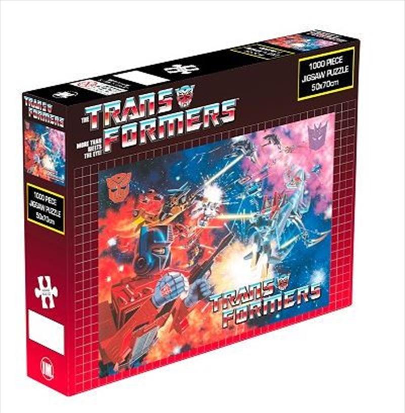 Transformers Space Battle 1000 Piece Puzzle | Merchandise