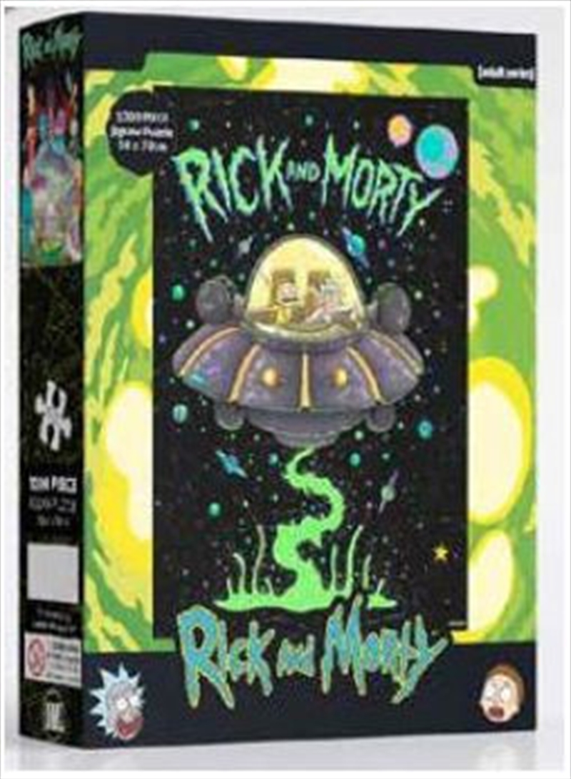 Rick And Morty Ship 1000 Piece Puzzle | Merchandise