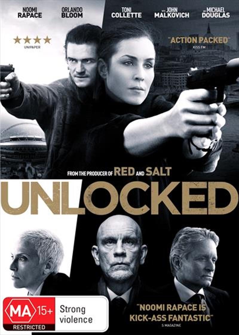 Unlocked   DVD