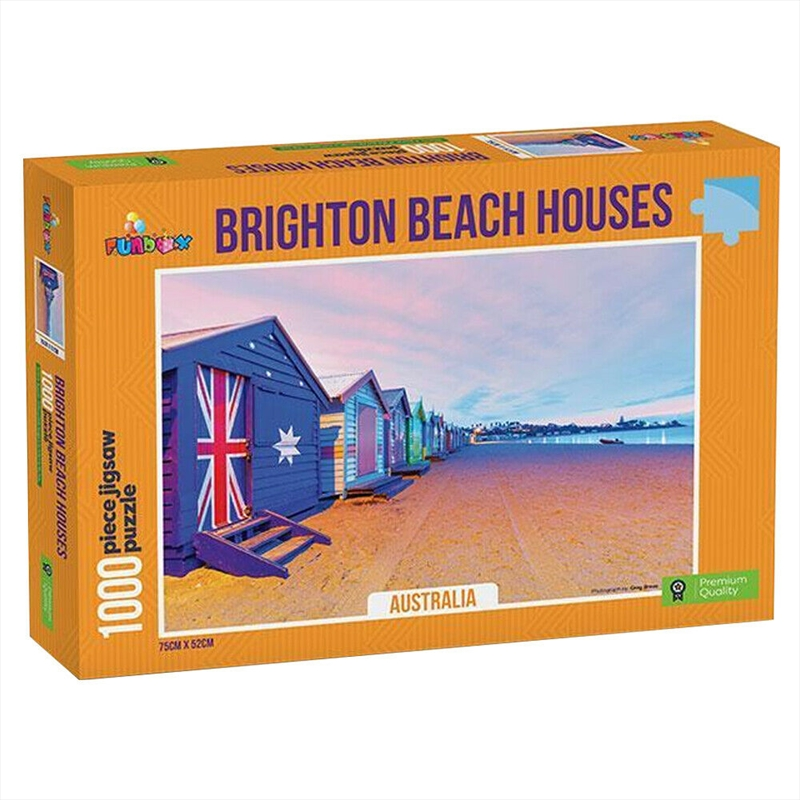Brighton Beach Boxes Australia 1000 Piece Puzzle | Merchandise