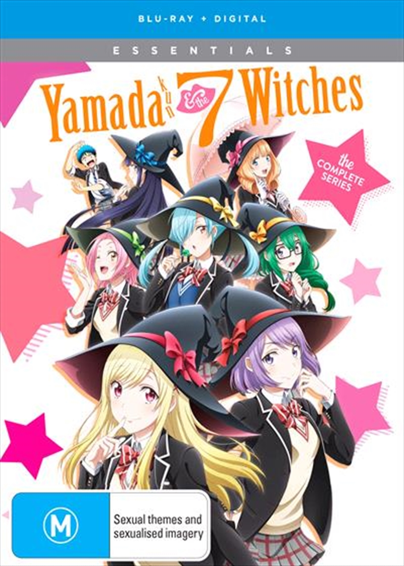 Yamada-Kun and The Seven Witches - Eps 1-12 | Complete Series | Blu-ray