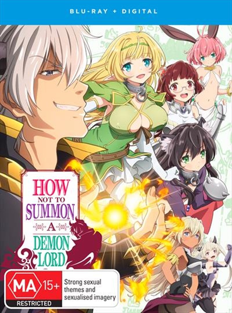 How Not To Summon A Demon Lord | Complete Series | Blu-ray