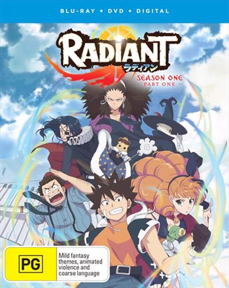 Radiant - Part 1 | Blu-ray + DVD | Blu-ray/DVD