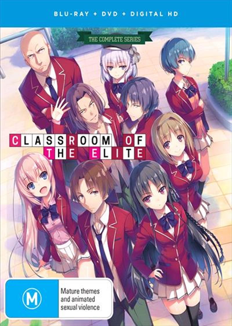 Classroom Of The Elite | Blu-ray + DVD + Digital Copy - Complete Series | Blu-ray