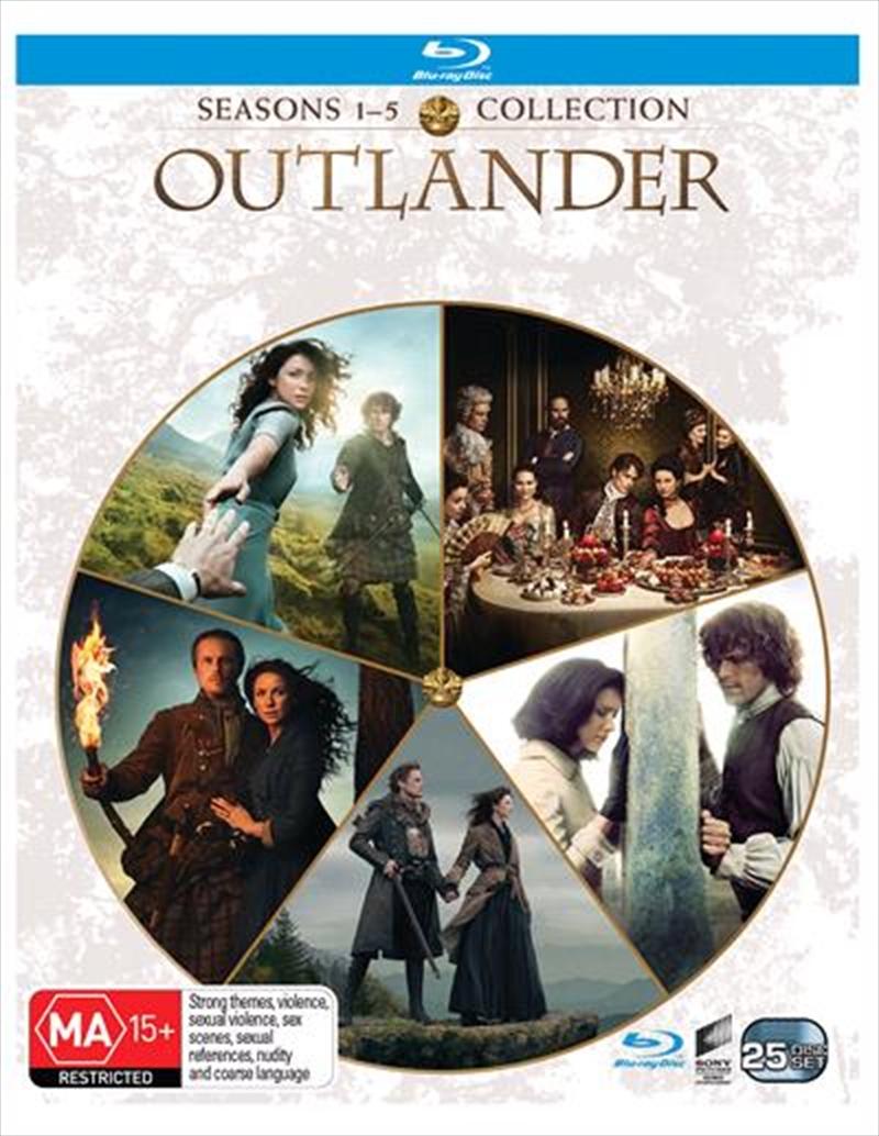 Outlander - Season 1-5   Boxset   Blu-ray