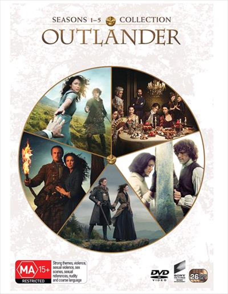 Outlander - Season 1-5   Boxset   DVD